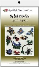Quilled Creations Paper Quilling Kit MY BUG COLLECTION Butterfly, Ladybug ~ 411
