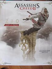 Assassin's Creed II EZIO Di Auditore Leap of Faith PVC Statue NEW