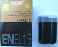 BATTERY EN-EL15 FOR NIKON D7000 D7100 D7200 D800 D800E D810 D750 V1 D600 D610