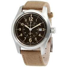 Hamilton Khaki Field Auto Brown Dial Mens Watch H70605993