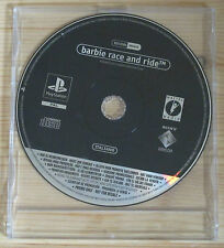 Barbie Race and Ride - Promo Gioco Completo - New - PlayStation 1 - PSX