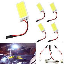 Weiß COB 18-LED-Platte Auto-Innenhaube Glühlampe T10 Girlande 12V Lichter