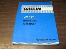 MANUEL REVUE TECHNIQUE D ATELIER DAELIM 125 VC 1997 -  service manual