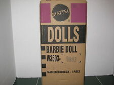 Barbie Exclusive Afternoon Suite Doll GOLD LABEL with Shipper W3503