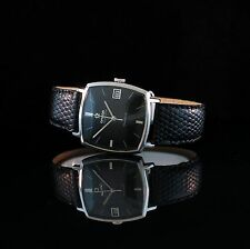 STUNNING MENS 1969 Omega SQUARE WATCH AUTOMATIC QUICK-SET DATE VINTAGE 565