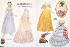 Queen Victoria As a Young Woman Paper Doll, Sylvia Kleindinst, Mag.pd.