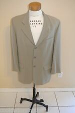 Jean Paul Germain Size 40 R Regular 100% Wool 3 Button Sport Coat Blazer