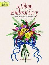 Ribbon Embroidery With 178 Iron-On Transfers (Dover Iron-On Transfer Patterns),