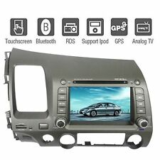 "7"" 2 DIN In Dash GPS Car DVD Player Navigation TV iPod For Honda Civic 2006-2011"
