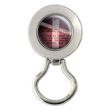 Cross Bible Verse John 3-16 God So Loved World Magnetic Eyeglass Badge Holder