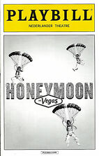 "Tony Danza ""HONEYMOON IN VEGAS"" Rob McClure / Jason Robert Brown 2015 Playbill"