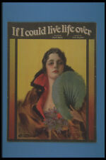 305029 If I Could Live Life Over Copyright 1919 A4 Photo Print