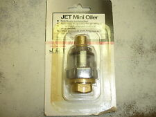 "Jet Equipment JG-301 Jet Mini Oiler Brass 1/4"" NPT"