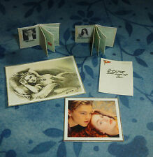 TITANIC PASSPORT BOOKS & PICTURES SET 1:12 SCALE For Adults!