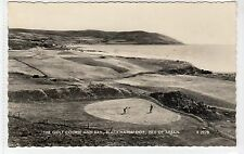 GOLF COURSE AND BAY, BLACKWATERFOOT: Isle of Arran postcard (C13763)