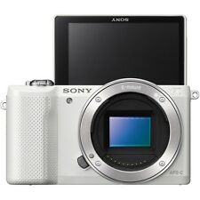 Sony A5000 Mirroless Digital Camera -Body Only - White