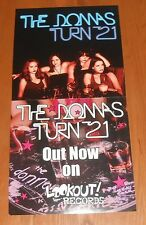 The Donnas Turn 21 Poster 2-Sided Flat Square Promo 12x24