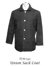 Men's Civil War Union Sack Coat 34-58 Chest - Timeless Stitches Sewing Pattern