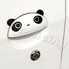 4PCS/SET BLACK HANDLE PANDA UNIVERSAL DEMON AUTO CAR STICKER FIT FOR FORD