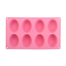 8 - Eggs Silicone Ice Cube Chocolate Cake Cookie Cupcake Soap Molds Mould