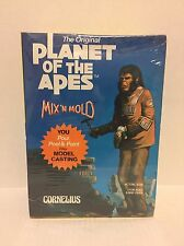 VINTAGE Mix'n Mold Planet of the Apes Model CORNELIUS Apjac 1967 UNOPENED