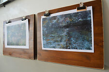 Reclaimed Wood Clipboard Picture Frames Vintage LARGE On Your Wall