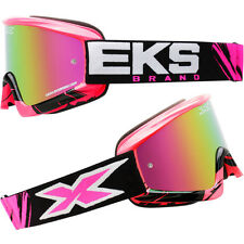 EKS Brand X-Fade Volcano Pink Womens Off Road Dirt Bike Motocross Goggles