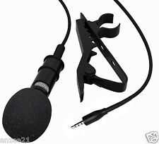 Lavalier Lapel Clip on Microphone Mic for iPhone iPad iPod Touch Samsung Android
