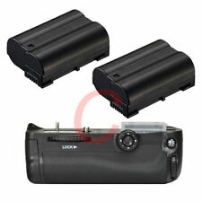 Battery Grip Holder For Nikon D7000 DSLR as MB-D11 + 2x Decode EN-EL15 Tracking