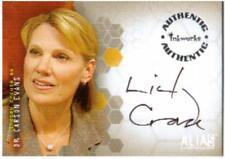 Alias Season 1 Auto Card A6 Lindsay Crouse as Dr. Carson Evans