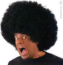 Perruque Noire Big AFRO DISCO Déguisement Adulte Homme Costume Hippie année 1980