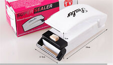 Portable Sealing Tool Heat Mini Handheld Plastic Bag Impluse Sealer