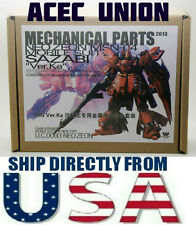 U.S. SELLER Metal Detail Part Set For Bandai 1/100 MG Sazabi ver Ka Gundam