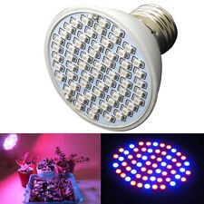 6W 60LED E27 Hydroponic Plant Grow Light Panel Full Spectrum Indoor Growing Lamp