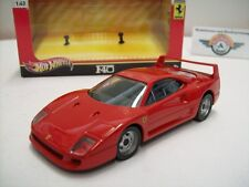 Ferrari F40, rot, 1987, HOT WHEELS 1:43, OVP