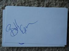 Bobby Eaton Autographed Index Card