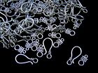 50 Pcs - Tibetan Silver Fancy Hook and Eye Toggle Clasps Findings Jewellery E199