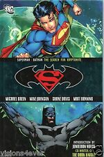 D.C. pres: SUPERMAN BATAN  THE SEARCH FOR KRYPTONITE* HARDBACK BOOK