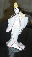 SIGMA THE TASTESETTER KABUKI CANDLE HOLDER ORIENTAL WOMAN W/ MUSICAL INSTRUMENT