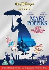 MARY POPPINS 2 DISC (2005) Julie Andrews, Dick Van Dyke NEW AND SEALED UK R2 DVD
