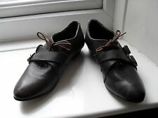 Women's ASOS Brown Leather Shoes.  Size 4.
