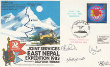 East Nepal Expedition 1983 Signed 4 Expedition members, Flown Hong Kong - Napal