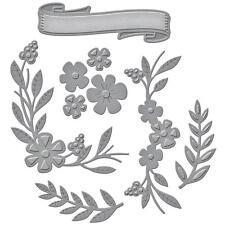 Spellbinders Shapeabilities Die ~ FLORAL BERRY ACCENTS ~ S4-579