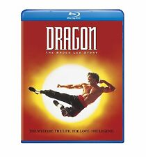 DRAGON :THE BRUCE LEE STORY (1993) -  Blu Ray - Sealed Region free