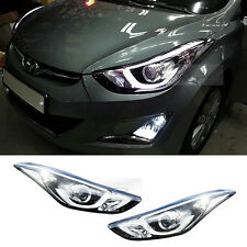 OEM Parts Projection LED HeadLamp Lights For Hyundai 2011-2016 Elantra Avante MD