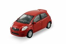 "Welly Toyota Yaris 1/36 scale 4.5"" diecast model car Red W89"
