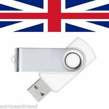 64GB Blue Swivel USB Flash Drive Memory Stick Pen - UK SELLER computer laptop