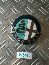 ALFA ROMEO 156 147 AUTO LOGO EMBLEMA POSTERIORE BOOT BADGE 74 mm