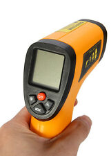 Non Contact IR Infrared Digital Temperature Thermometer ORANGE kids sick heat 1