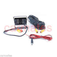 24V 18IR LED Night Vision CCD Car Rear View Reverse Waterproof Reversing Camera